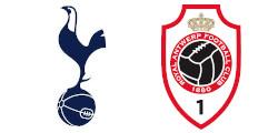 Tottenham x Anvers
