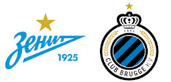 Zénith Saint-Pétersbourg x FC Bruges