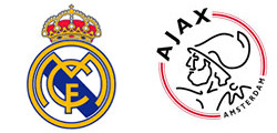 Real Madrid x Ajax Amsterdam