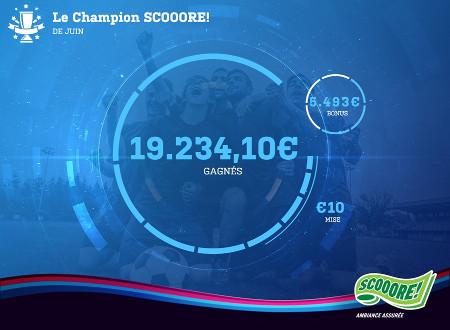 Il gagne 19.234.10  € pendant l'Euro en plaçant un pari combiné