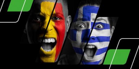 Belgique x Grèce: Recevez jusqu'à 1.000  euros en plus en pariant avec Unibet