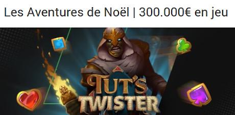 300.000 € à gagner avec les Aventures de Noël du Casino Unibet