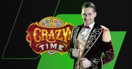 Enchainez les gains fous avec Crazy Time du casino Unibet