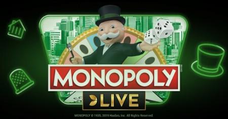 20 € de bonus gratuit sur Monopoly Live
