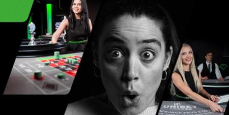 7 jours de folie: 15.000 € à gagner sur  le Live Casino Unibet