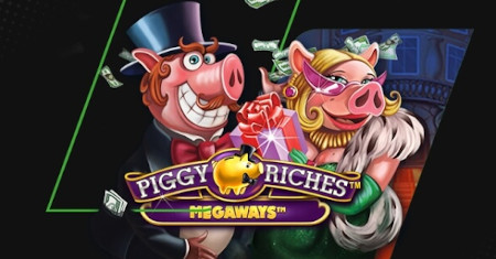 Piggy Riches Megaways au Casino Unibet