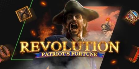 Revolution Patriot's Fortune : Tournoi de 20.000 € sur Unibet.be