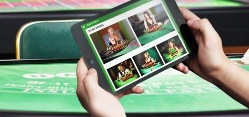Tournois live casino d'Unibet.be