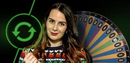 Tournez la Money Wheel et gagnez des parties casino bonus sur Unibet