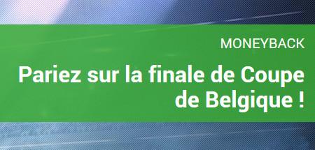 Finale Croky Cup: MoneyBack offert par Unibet si match nul