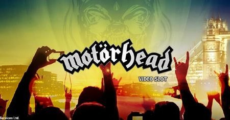 Motörhead Video Slot sur Unibet