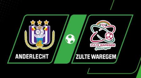 OddsBoost Unibet pour Anderlecht x Zulte Waregem