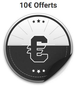 Package de bienvenue sur Unibet Poker dont 10 euros offerts
