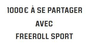 1.000 € à gagner tous les jeudi à 20h avec les Freerolls Sport d'Unibet Poker