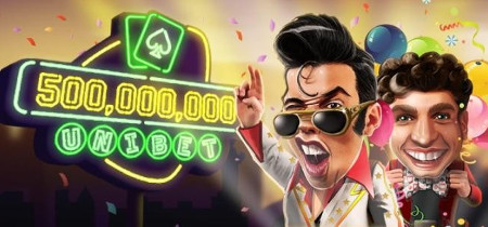 Un demi-milliard de mains sur Unibet Poker