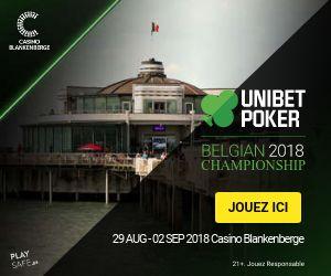 Unibet Poker Belgian Championship 2018