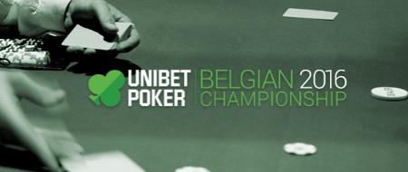 Prenez part au championnat Poker Unibet Belgique 2016