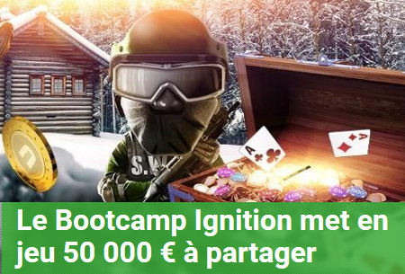 Bootcamp Ignition d'Unibet Poker