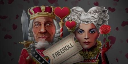 Gagnez deux tickets freeroll pour la Saint-Valentin