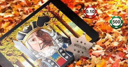 Les missions de novembre commencent sur Unibet.be