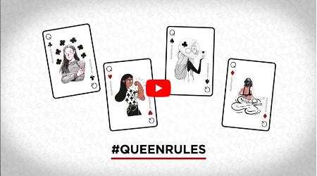 #Queenrules: Unibet.be donne le pouvoir aux femmes le 8 mars