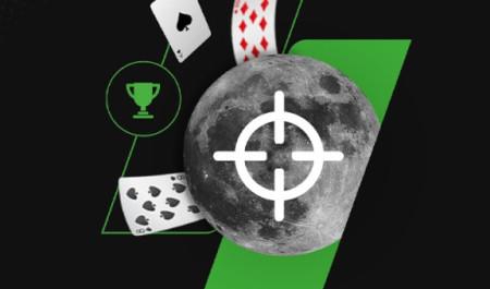 Tournoi Supermoon: 40.000 euros garantis  sur le casino Unibet