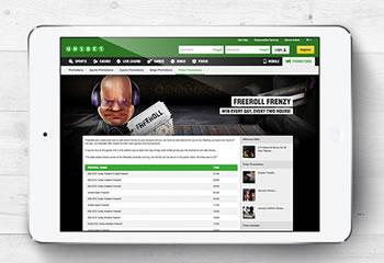 Freeroll iPad d'Unibet Poker avec 1.000 € garantis