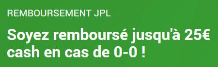 Pro League: Paris remboursé si match nul sur Unibet