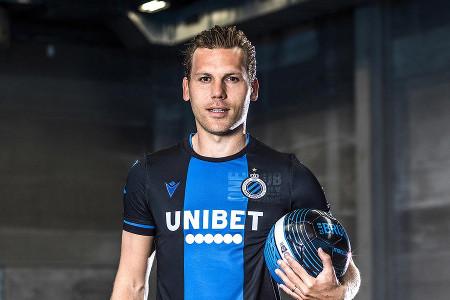 Unibet sponsor maillot du Club Bruges