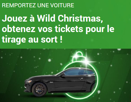 Gagnez un Ford  Mustang 2.3 EcoBoost avec Unibet.be