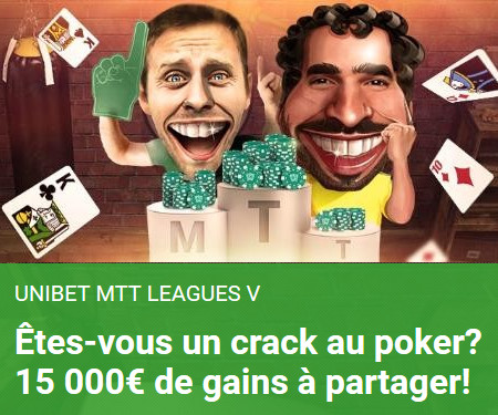 Unibet MTT Leagues V