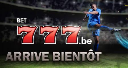 Les offres de paris en ligne bientôt disponibles sur Bet777.be