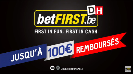 100 € offerts par betFirst à l'inscription