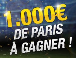 1.000 € si score exact finale de la ligue des Champions sur betFirst