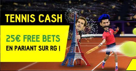 25 € de bonus en pariant sur Roland-Garros sur BetFirst