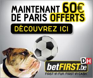 60 € de paris offerts vous attendent sur Betfirst et sa mascotte Lucky