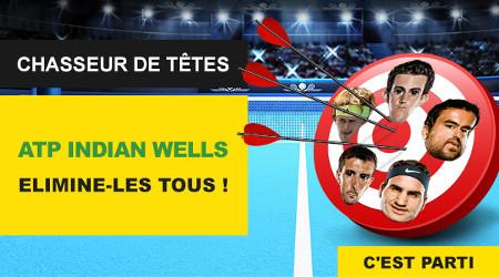 ATP Indian Wells: Gagnez des paris gratuits sur BetFirst
