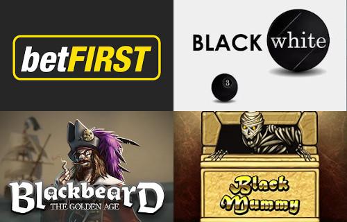 3 jeux à découvrir pour le Black Friday sur le casino betFirst