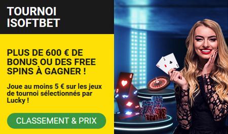 Gagnez des bonus et des free spins avec le tournoi iSoftBet