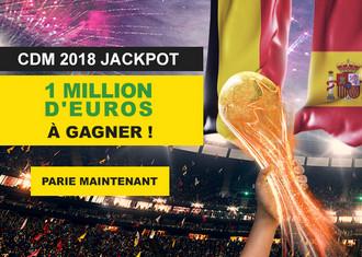 1 million d'euros à gagner en pariant pendant le Mondial