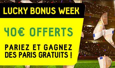 Gagnez 10 € de bonus chaque semaine sur betfirst.be en janvier
