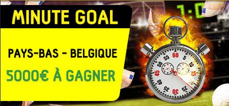 Pays-Bas x Belgique : Trouvez le premier buteur et la minute exacte pour gagner 5.000 €