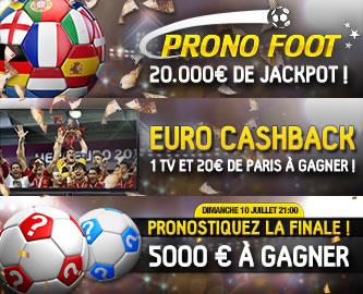 Des promotions exceptionnelles pour l'Euro 2016 sur betFirst