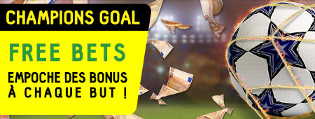 Ligue des champions: Gagnez des free bets Bayern x PSG / Real Madrid x Dortmund