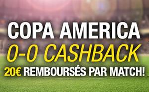 20 € de paris remboursés pendant la Copa America