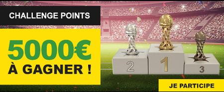 Pariez sur la Coupe du Monde et gagnez une partie du jackpot de 5.000 euros
