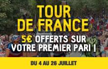 Tour de France: Betfirst.be vous rembourse à hauteur de 5 euros