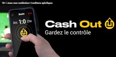 Cash-out sur Bwin : Retirer vos gains avant la fin de l'évènement