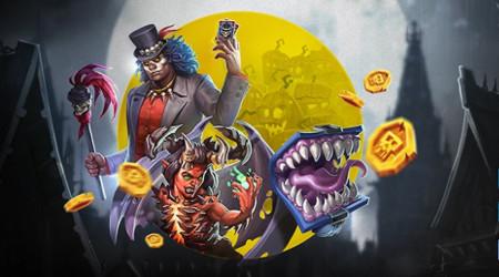 Cash Drop pour Halloween sur le casino Bwin