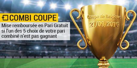 Coupe de Belgique: Paris combinés remboursés si une seule sélection perdante
